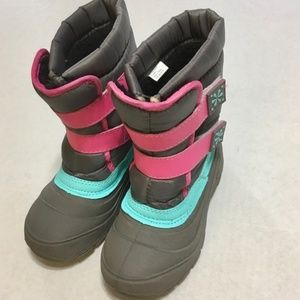 Wonder Nation Kids Girl's Winter Snow Boots 13